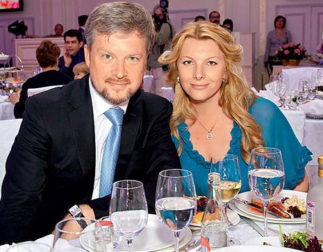 Валдис Пельш и жена Светлана