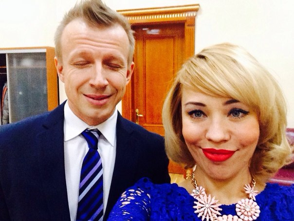 Антон Комолов и Елена Абитаева
