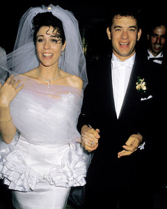 Том Хэнкс и Рита Вилсон свадьба