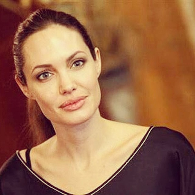 Анджелина Джоли (фото из Инстаграма)