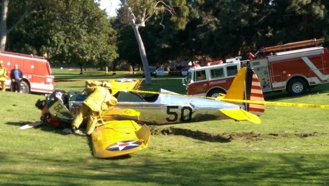 Харрисон Форд попал в авиакатастрофу, видео