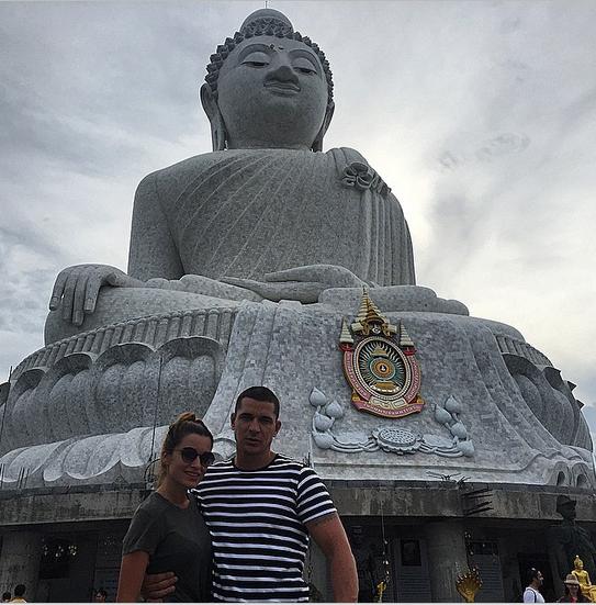 Ксения Бородина и Курбан Омаров, Таиланд 2015