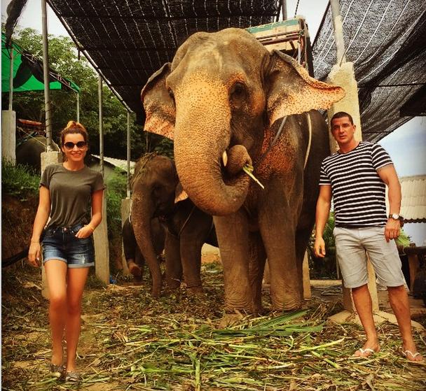 Ксения Бородина и Курбан Омаров, Таиланд 2015д