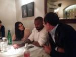 Ким Кардашьян с мужем и мэром Иерусалимафото из Инстаграма Нира Барката