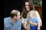 Принц Уильям, Кейт и Джордж