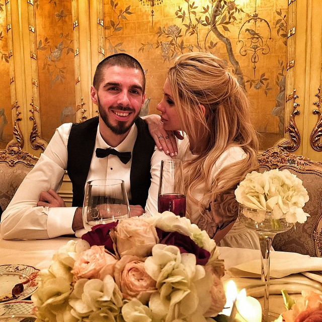 Лиза Кутузова и Ростислав Пирогов, фото из Инстаграма