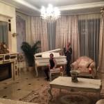 Анастасия Волочкова с дочерью Ариадной в новом доме