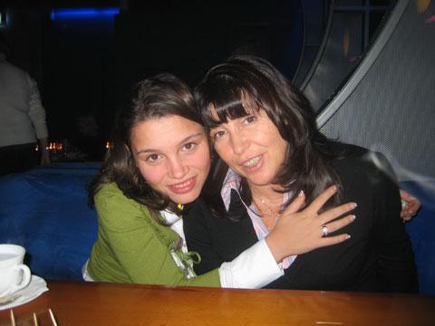 Фото Жанны Немцовой с мамой, Раисой Немцовой