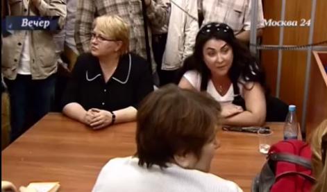 Лолита Милявская в суде