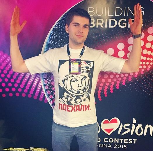 Дмитрий Борисов Евровидение 2015 Вена