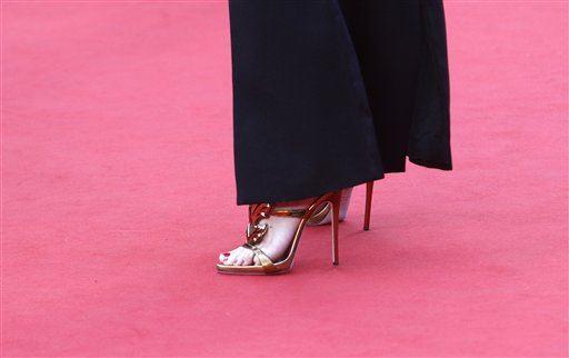 Канны 2015:  туфли только на шпильке