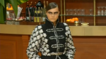 Кара Делевинь на показе Chanel