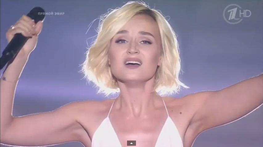 Полина Гагарина прошла в финал конкурса «Евровидение 2015». Видео