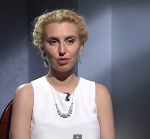 "Диана Ходаковская ""Званый ужин"" кадр из программы"