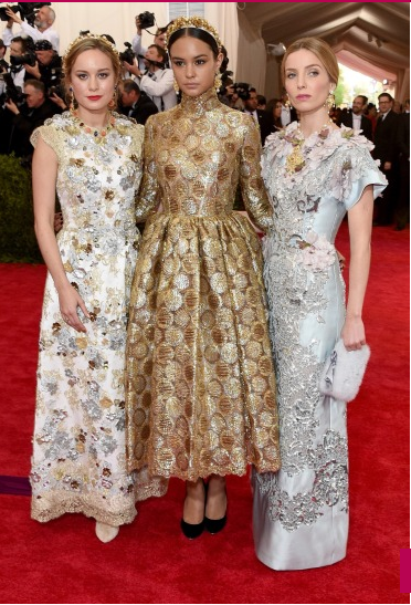 Met-gala-2015-Brie Larson-Courtney Eaton-Annabelle Wallis
