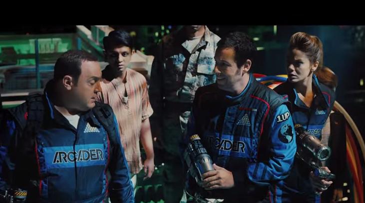 Адам Сэндлер и Питер Динклэйдж из «Игр Престолов» в новом фильме «Пиксели». Трейлер