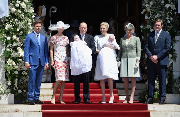 Крестины детей князя Монако Альбера и княгини Шарлен
