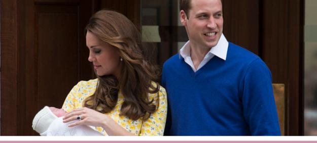 принц Уильям, Кейт с новорожденной принцессой Шарлоттой