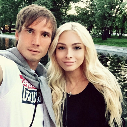 Алена Шишкова и Антон Шунин. Фото из Инстаграма Антона