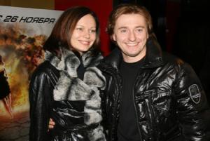Сергей Безруков и Ирина Безрукова