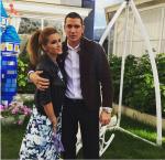 Фото Ксении Бородиной и Курбана Омарова на дне рождения дочери Бородиной Маруси 10 июня 2015