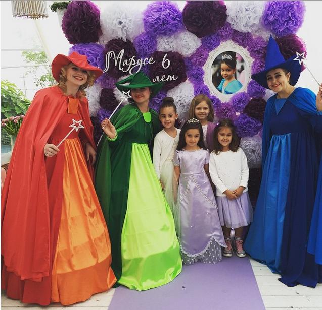 Дочь Ксении Бородиной Маруся, фото со дня рождения 10.06.2015
