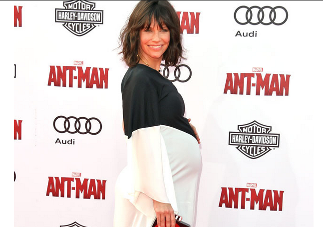 Evangelin-Lilly-pregnant