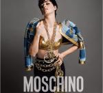 Фото Кэти Перри в рекламе Moschino 2015