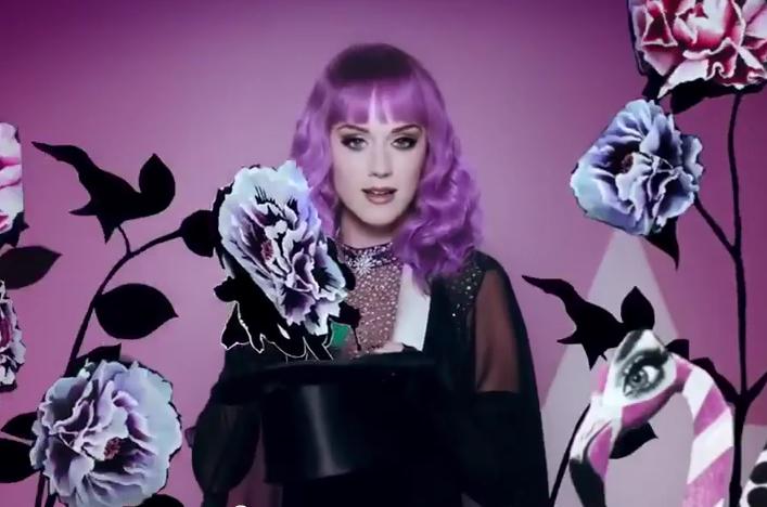 Новые духи Кэти Перри — Mad potion (видео)