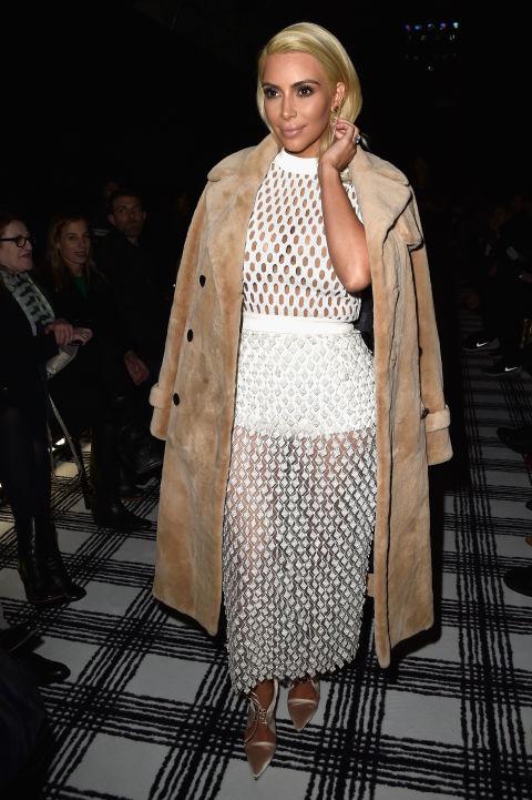 Kim-Kardashian-Balenciaga-show-2015