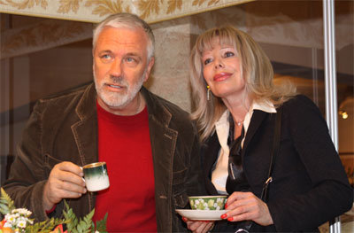Фото Дмитрия Крылова с женой, Татьяной Бариновой