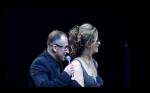 Фото Дмитрия Нагиева с бывшей женой Аллой Селищевой (Алисой Шер) во время совместной работы на мероприятии