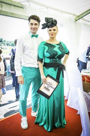 Совместное фото Дмитрия Оленина с Анной Семенович