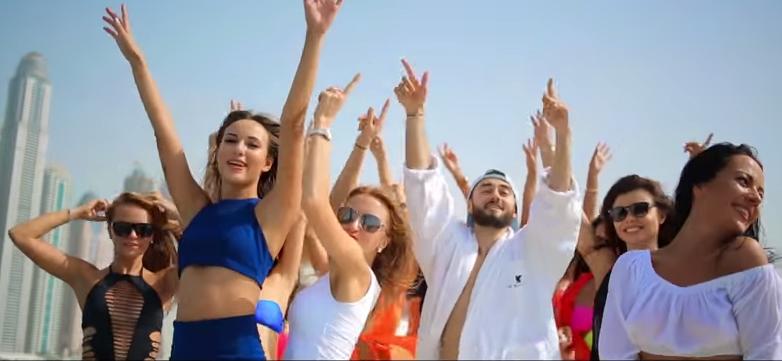 Ольга Бузова и Дмитрий Тарасов в клипе рэпера Мота «День и ночь», видео