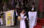Фото Софии Хельквист и принца Карла Филипа во время церемонии бракосочетания