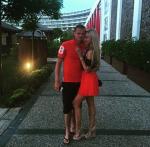 Дмитрий Тарасов с женой Ольгой Бузовой на отдыхе, фото 2015