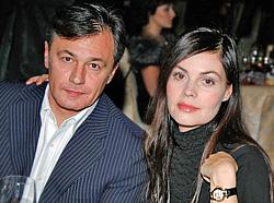 На фото Екатерина Андреева с мужем