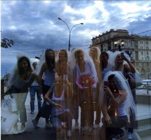 Фото с девичника Ксении Бородиной