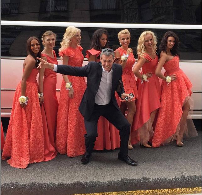 Свадьба Ксении Бородиной: подружки невесты фото из Инстаграма