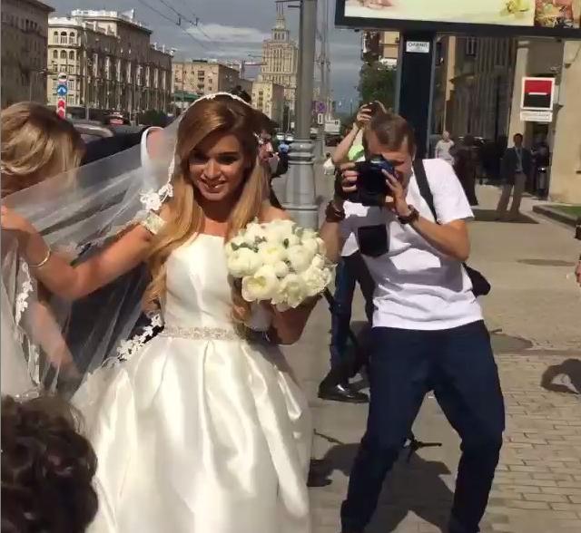 Ксения Бородина вышла замуж фото из Инстаграма