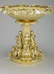 Фото драгоценной купели, которую использовали в обряде крещения принцессы Шарлотты