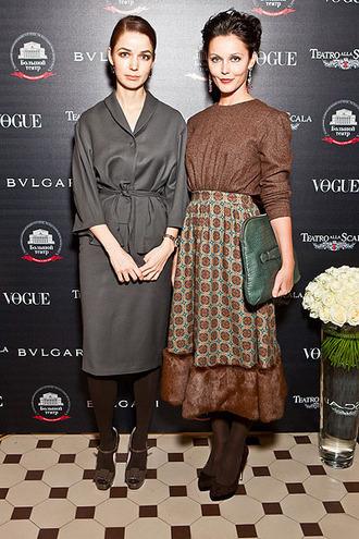 На фото Алена Ахмадуллина и Екатерина Гринчевская (справа)