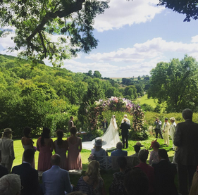 Фото свадебной церемонии Гая Ричи и Джеки Эйнсли