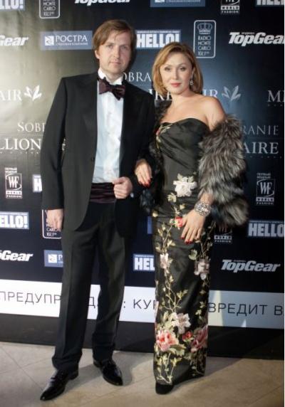Фото Елены Ищеевой с мужем Филиппом Ильиным-Адаевым