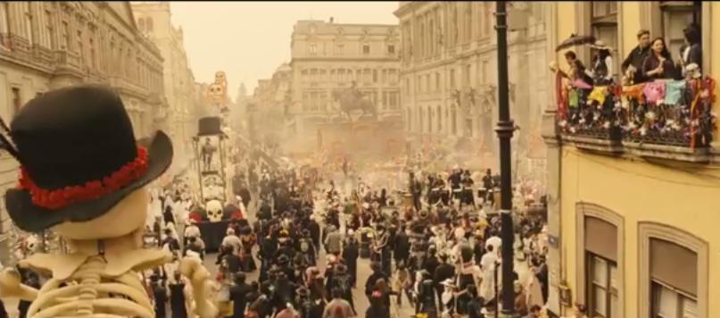 Новый фильм об агенте 007 Джеймсе Бонде «Спектр» — трейлер