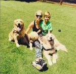 Каролина Куркова фото 2015 с сыном Тобином из Инстаграма