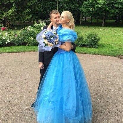 Татьяна Ларина и Юлий Мицкевич-Далецкий фото в день свадьбы