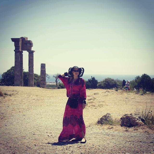 Лена Ленина фото июль 2015 Греция