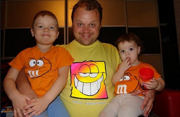 Евгений Никишин фото с детьми