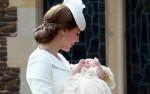 Мама с дочкой: фото герцогини Кейт с Шарлоттой на руках, 5 июля 2015